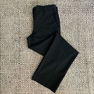 GAP Perfect Trouser Size 2R Black Checkered